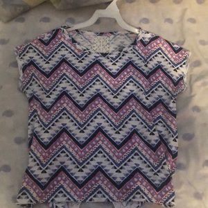 cute patterned t-shirt